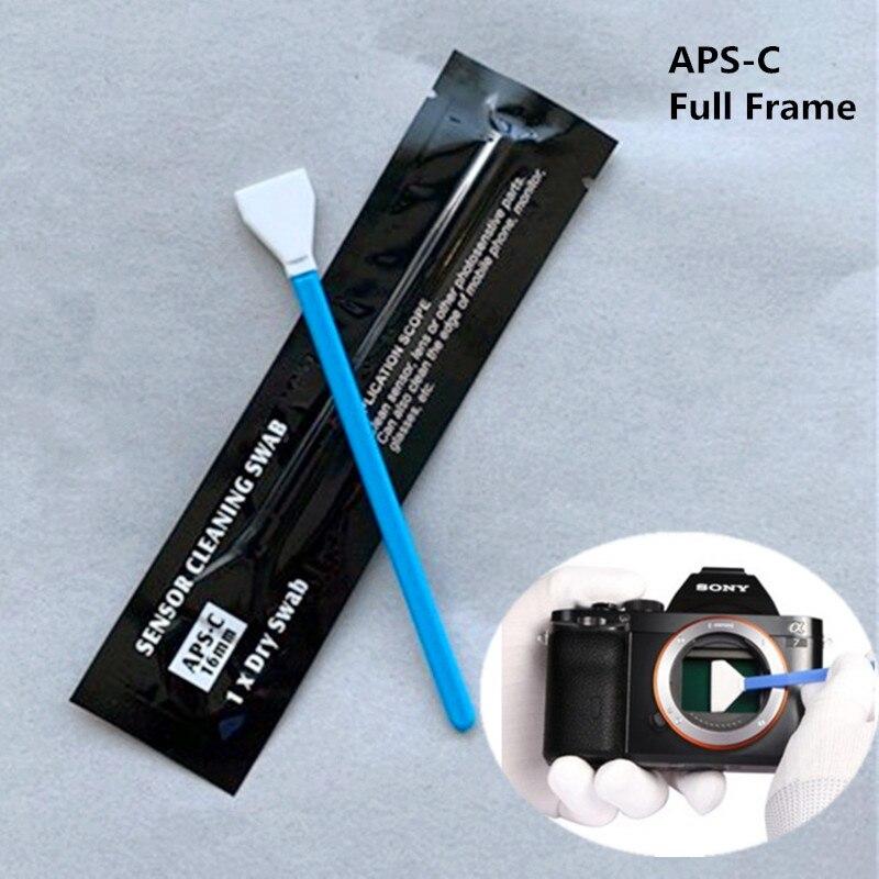 6 uds lente de cámara digital limpiador hisopo Sensor limpieza Kit de bastoncillos para cámara Nikon Canon