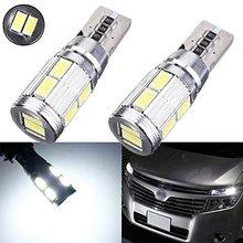New 4x Car LED CANBUS 10SMD 5630 Error Free T10 W5W 194 168 LED Car Side Bulbs, Parking Lamp, Position, Eyelid Light, etc
