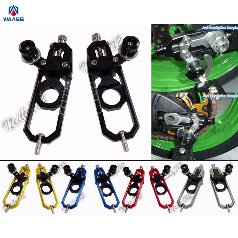 Waase-أدوات ضبط سلسلة الدراجات النارية مع بكرة ، كاينا لسوزوكي GSXR600 GSXR750 GSXR 600 750 2006 2007 2008 2009 2010