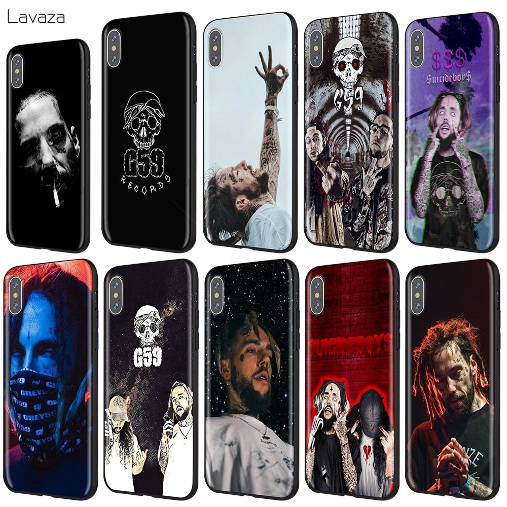 Lavaza $ uicideboy $ Suicideboys caso para iPhone 11 Pro XS Max XR 8X8 7 6 6S Plus 5 5S se