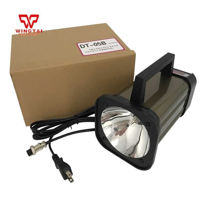 DT-05B AC220V High Speed Industry Inspection Strobe Portable Digital Stroboscope with 50~20000 FPM Flash Analyzer