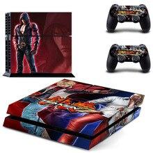 Spiel Tekken 7 PS4 Haut Aufkleber Aufkleber Für Sony PlayStation 4 Konsole und 2 Controller PS4 Haut Aufkleber Vinyl