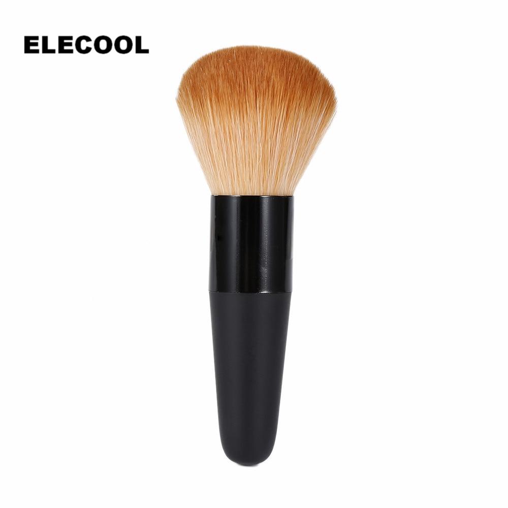 ELECOOL 1Pc Single Makeup Brush Soft Face Powder Foundation Brush Cosmetic Big Loose Shape maquiagem