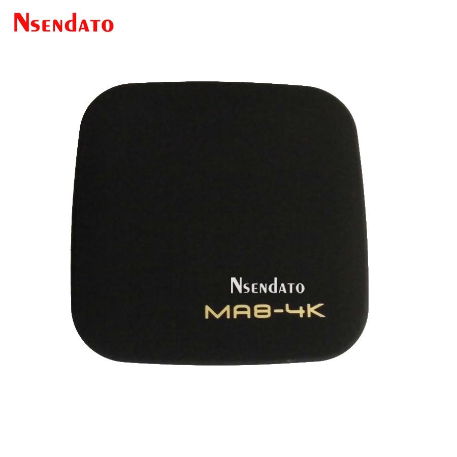 Nsendato MA8-4K Rockchip RK3229 Android 5.1 Smart TV Box 1GB 8GB Quad Core WIFI HDMI HEVC 4K*2K HD Set-Top Boxes 3D Media Player