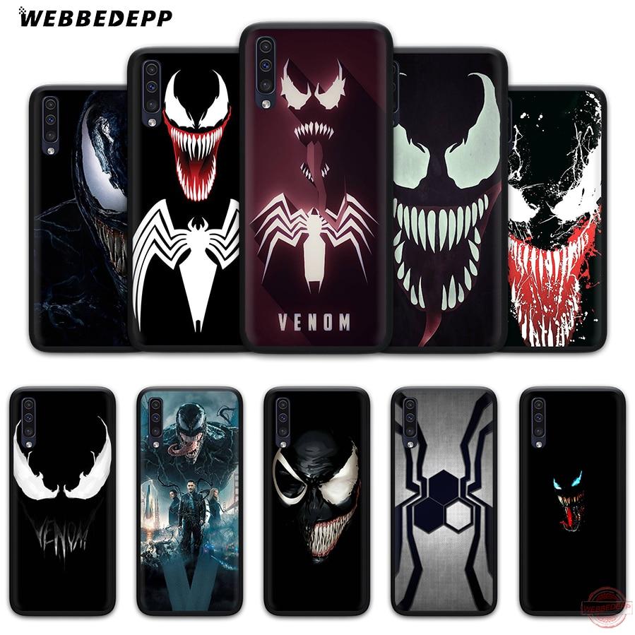 WEBBEDEPP veneno película suave caso de teléfono para Samsung A50s A40s A30s A20s A10s A60 A70 M10 M20 M30 M40 casos