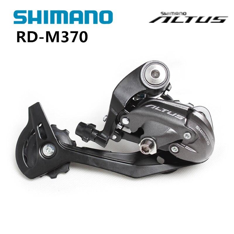 Altus RD-M370 3x8S 3x9S 24S 27S velocidad superior-Normal tradicional larga montaña MTB bicicleta partes bicicleta desviador trasero
