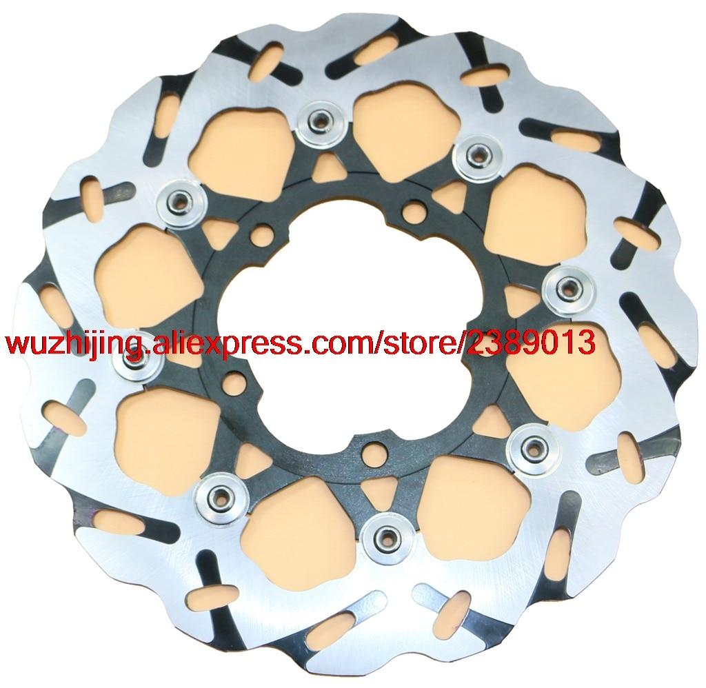 Rotor Do freio caber SUZUKI GSX1000R GSX-R1000 GSXR1000 GSX-R GSXR GSX R 1000 2005-2008 2006 2007 05 06 07 08 & Rad. cal