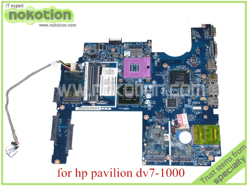 NOKOTION JAK00 LA-4081P SPS 500592-001 para hp pavilion DV7 DV7-1000 placa base de computadora portátil GM45 DDR2