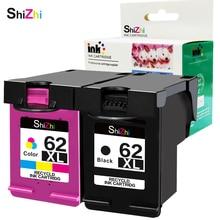 SHIZHI cartucho de tinta remanufacturada HP 62 62XL en HP Envy 5640, 5642, 5643, 5644, 5646, 5660, 7640, 7645 OfficeJet 5745, 5740, 5742,