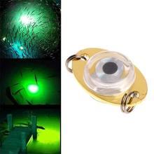 1 pièces LED sous-marine profonde goutte oeil appât poisson appât clignotant lampe lumière 1 pièces pour nouvel outil de pêche de haute qualité