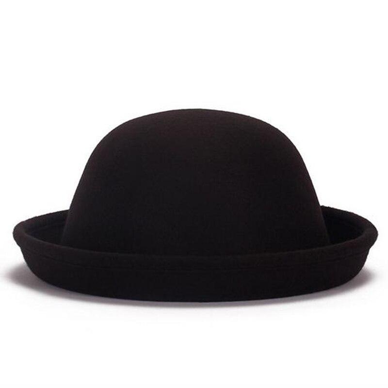 ¡Envío gratis! sombrero de fieltro de lana Estilo Vintage 2019 para mujer, sombrero de fieltro, sombrero, sombrero, gorras, 19 colores #112