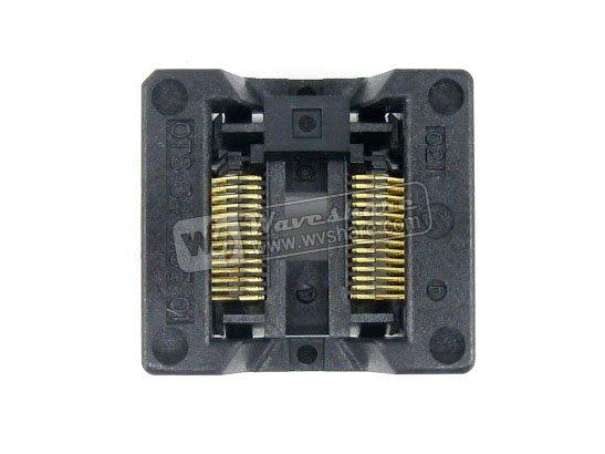 SSOP28 TSSOP28 OTS-28(34)-0.65-01 Enplas IC Test Burn-in Socket Programming Adapter 0.65mm Pitch 5.3mm Width