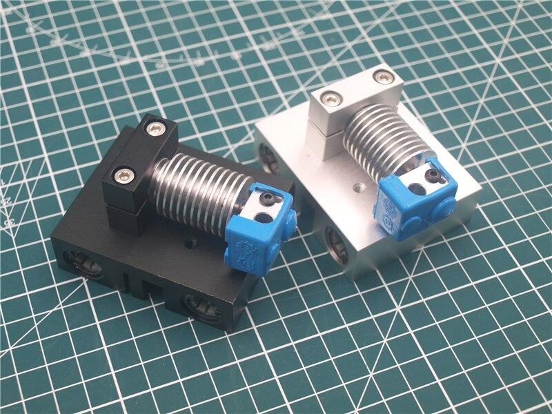 Peças de impressora 3d alumínio v6 hotend bowden x-carriage kit de montagem para prusa i3 1.75mm