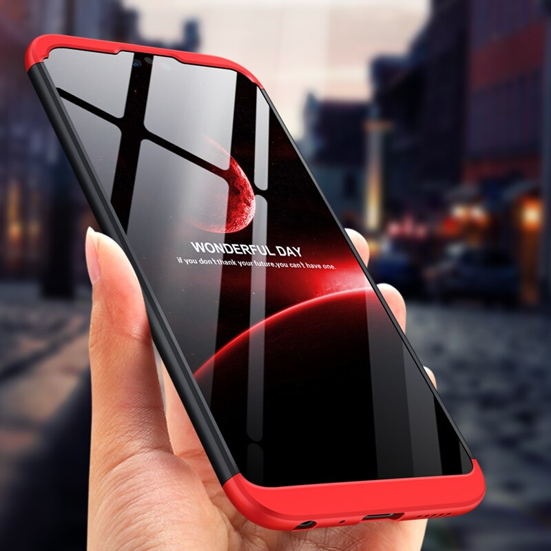 GKK чехол для Huawei Honor 9 8 10 lite чехол 360 полная защита для Huawei Honor Play 7A Pro y6 Prime 2018 чехол для телефона