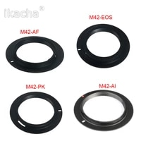 Metal M42 Lens Adapter Ring For M42-EOS AI AF PK Lens Adapter To For Canon Nikon Sony Pentax 20d 40d 50d SLR Camera
