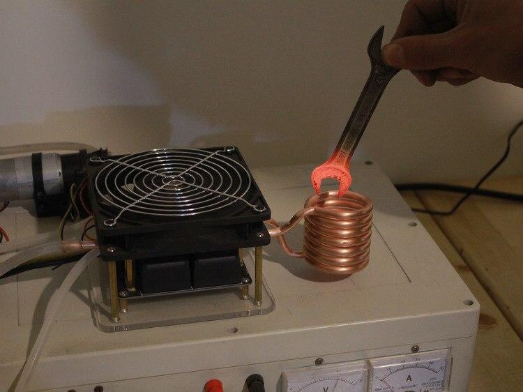 Máquina de calentamiento por inducción de alta frecuencia ZVS