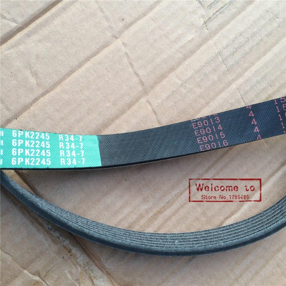 (10 قطعة/الوحدة) الأصلي PK V حزام القياسية 6PK2245 استبدال حزام 90916-02360 لتويوتا لكزس LS400 UCF10 UCF20 تاج