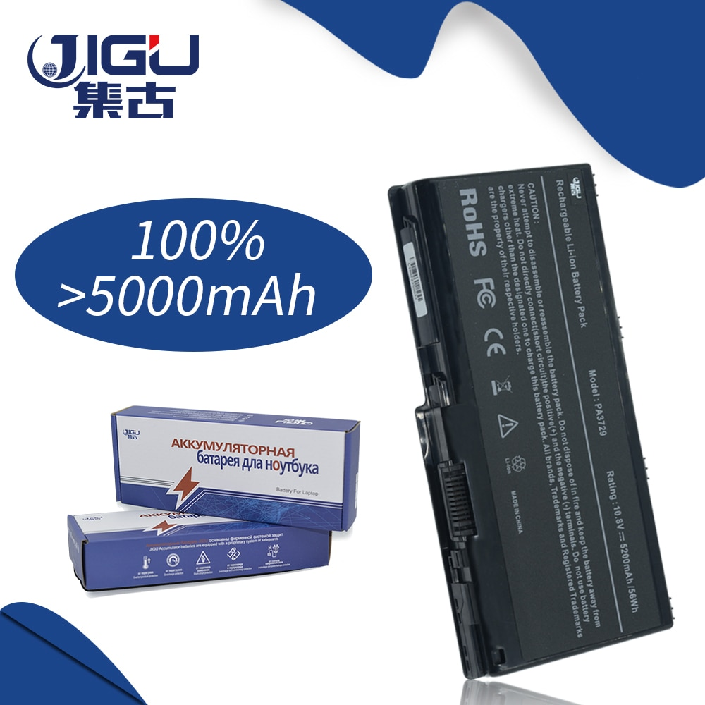 JIGU بطارية كمبيوتر محمول لتوشيبا كوزميو 90LW للستالايت P505D سلسلة G65 97K G60 PA3729U-1BRS