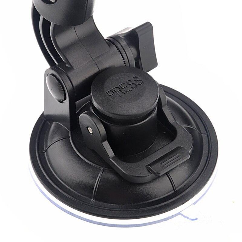 Montura de ventosa para coche soporte negro resistente parabrisas para Gopro Hero1/2/3/3 + Cámara UY8