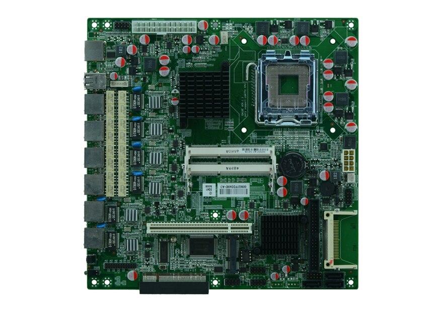 Материнская плата LGA 771 ATX Power G41 6 LAN, сетевая Серверная материнская плата