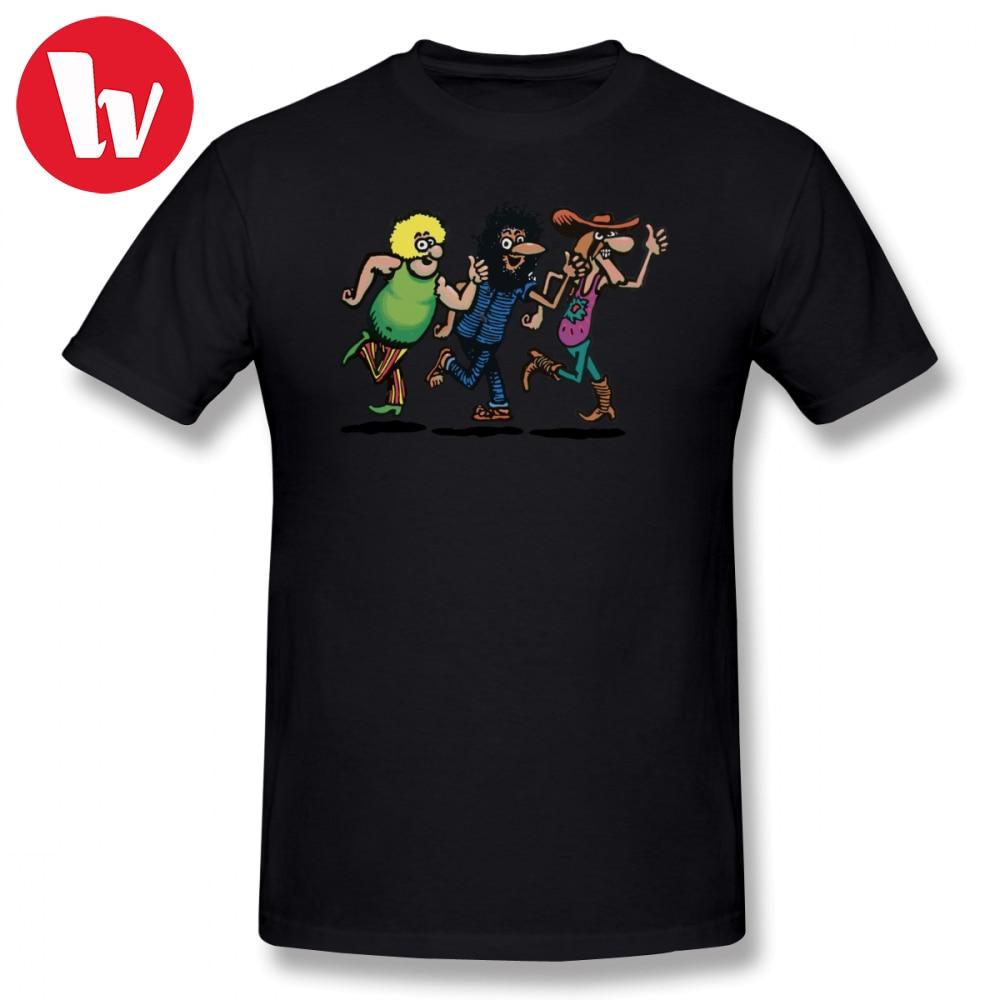 Camiseta para hombre Freak, camiseta The Fabulous Furry Freak Brother, camisetas clásicas de manga corta con estampado de dibujos animados, camiseta de talla grande