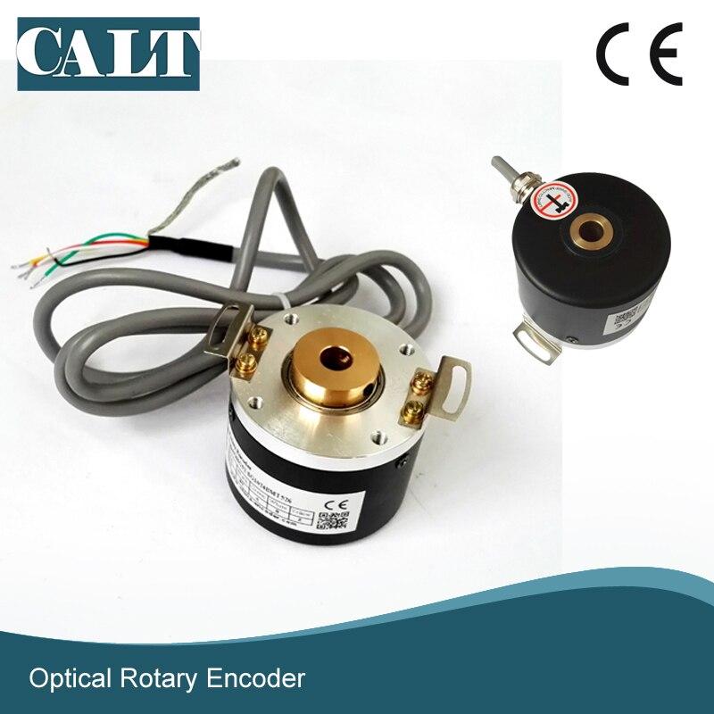 new el58b1024z5 28n10x3ma eltra rotary encoder 6mm solid shaft 1204 pulse npn interface incremental encoder GHH52 incremental opto rotary encoder 8mm hollow shaft encoder NPN output