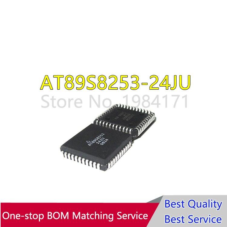 20 piezas AT89S8253-24JU AT89S8253 89S8253-24JU PLCC44 100% nuevo y original en stock microcontrolador de 8 bits con 12K Bytes Flash ID