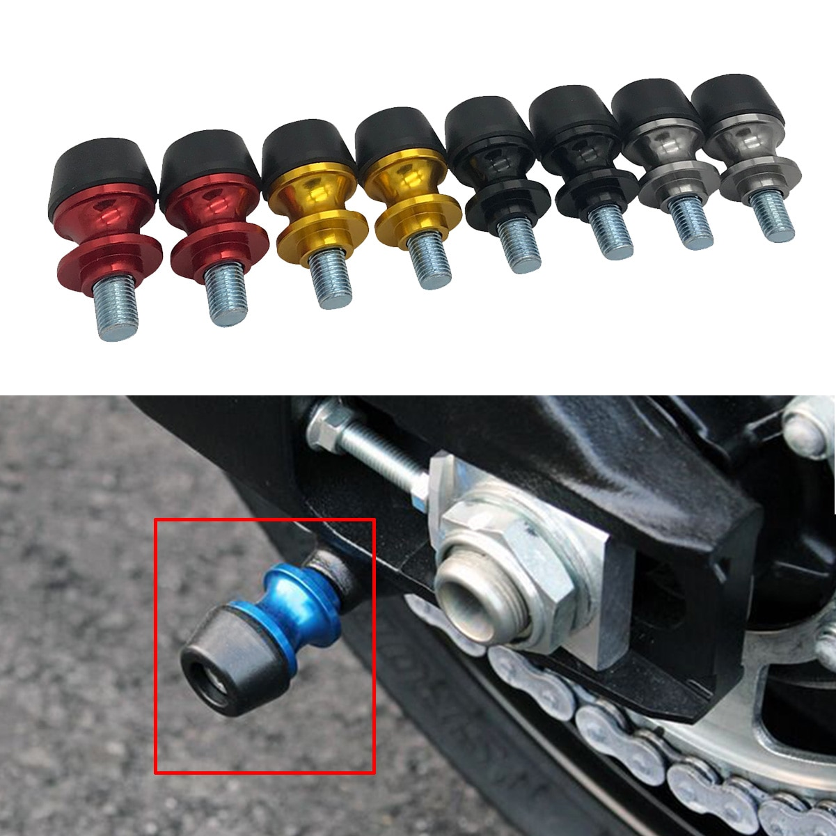 SEMSPEED CNC алюминиевые аксессуары для мотоциклов маятниковые Катушки слайдер для MSX 125 MSX125 CB1000R CBR650R CB650R CB650F CBR650F