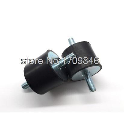 Pcs New 40 2*40 * M8 M8 Tipo Bloco de Base de Borracha Anti Vibração Monte silentblock VV