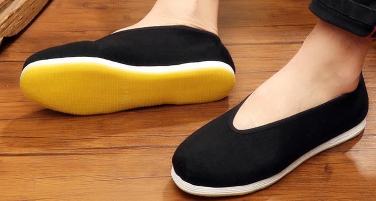 Grande taille EU38 ~ EU48 à la main multi-couche semelle Tai chi Arts martiaux chaussures chine vintage Kung Fu wushu chaussures de qualité supérieure