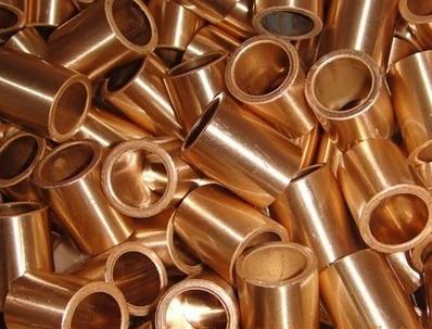 22*30*22mm FU-1 pulvimetalurgia buje de aceite cojinete poroso manguito de cobre sinterizado