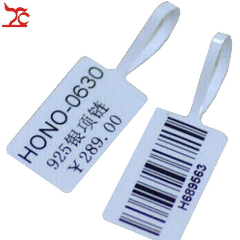 1000 pces adesivo calor sensível impressora etiqueta da loja de jóias impressão etiqueta de código de barras empresa impressão preço tags