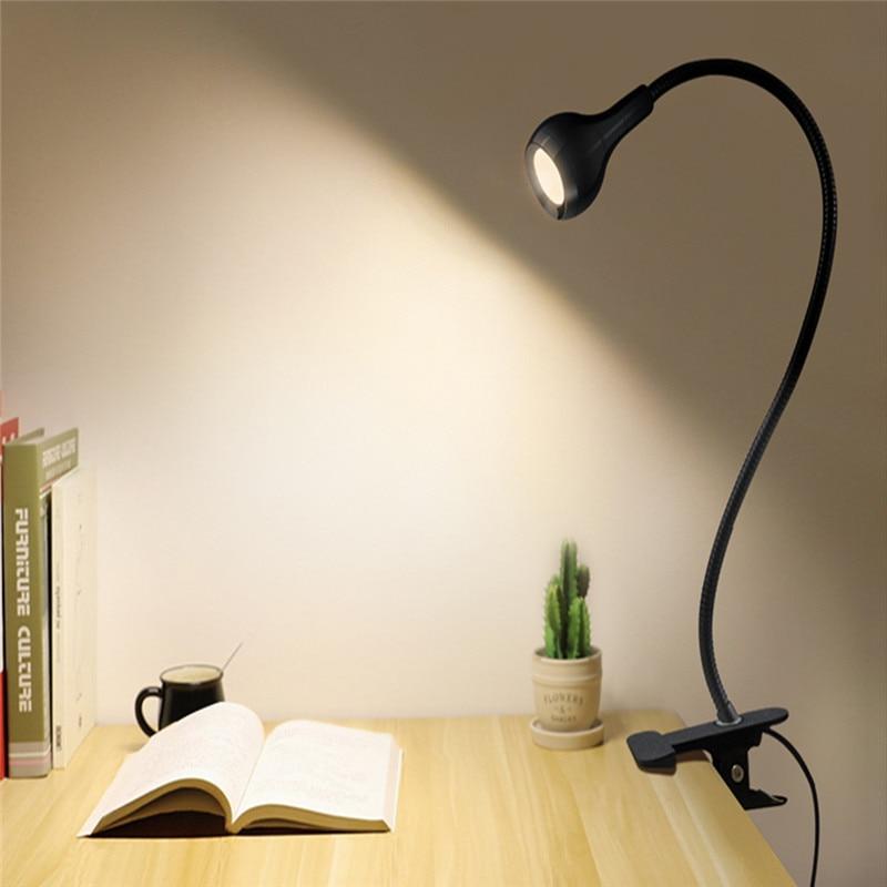 Lámpara LED Flexible para escritorio, soporte USB para cama, estudio, lectura, libro, alimentación, Bombilla, reflector apex legends
