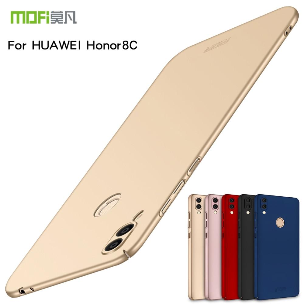 "Para Huawei Honor 8 C funda Mofi Original funda trasera dura completa para Huawei Honor 8C 6,26 ""mate funda de teléfono de lujo de plástico"
