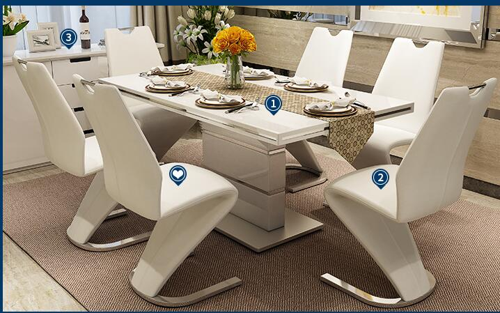 Обеденные стулья для отдыха. Креативность гостиницы. Компьютерные стулья ..