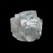 Yaogangxian fluorite crystal specimens teaching specimens produce small ornaments Mineral Collection