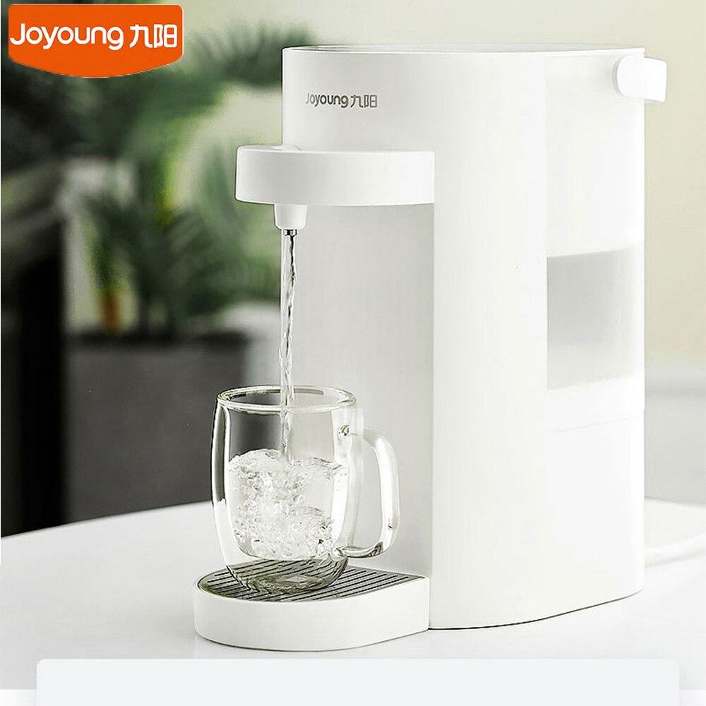 Nuevo dispensador de agua Joyoung, 2000 ml, hogar, oficina, calefacción inteligente, máquina de fuente de agua hirviendo, 6 engranajes, temperatura, caldera de agua