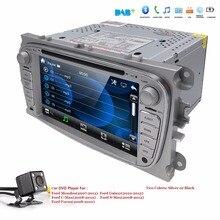 US/EU magazzino Car DVD multimedia Player Per FORD Mondeo S-MAX Connect FOCUS 2 2008 2009 2010 2011 GPS navi RDS BT Mappa gratuita Cam
