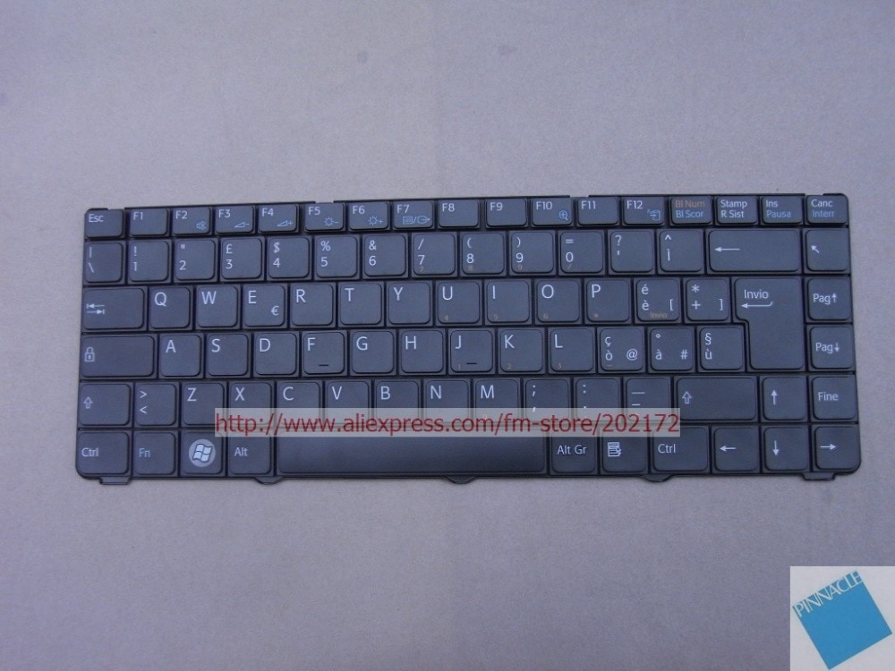 Brand New Black Laptop Keyboard 81-31205001-35 V072078BK1 For SONY VAIO VGN-NR VGN NR series Italy