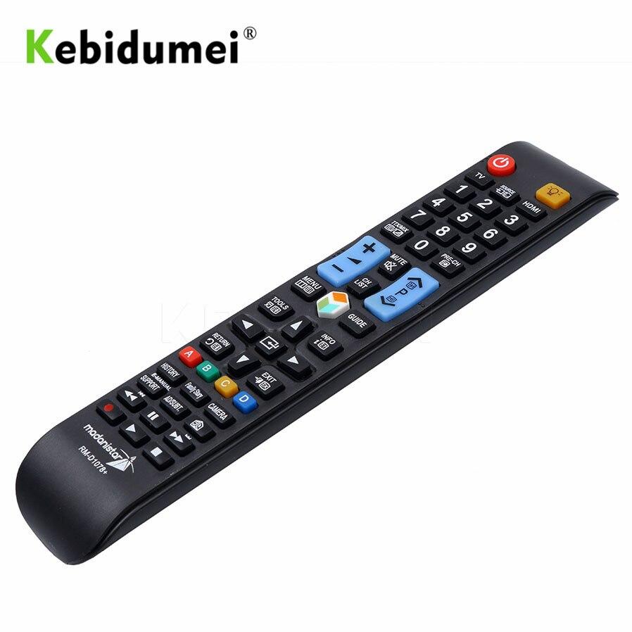 Controlador inteligente Kebidumei, mando a distancia Universal inalámbrico de repuesto para TV 3D Samsung AA59-00638A Smart LCD LED STB TV