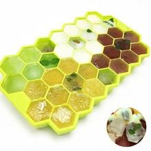 1PCS 37 Cavity Honeycomb Ice Form Silicone Ice Cream Maker Silicone Ice Cube Tray Silicone Mold DIY Cube Mold Kitchen Tools