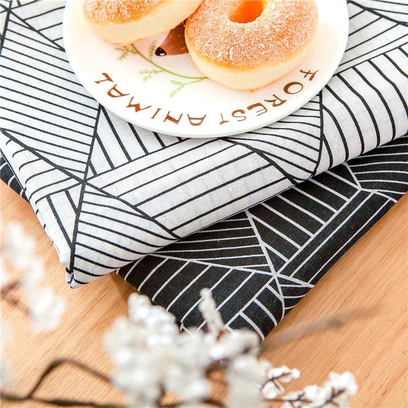 Byetee estilo moderno de algodón mantel de lino geométrico mantel para textil para el hogar, cocina comedor cubierta rectangular Mesa mesas