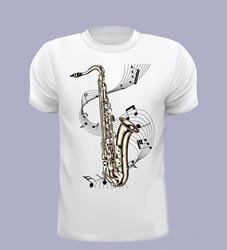 Camisa de moda de manga curta t saxofone, camiseta masculina, saxofone, música, camisa t, escolha seu sizerock t camisas 4xl 5xl