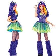 Déguisement dhalloween Cosplay   Ensemble déguisement Animal Cosplay femme, Sexy monstre vert Cosplay, ensemble 3 pièces fête féerique, Carnaval