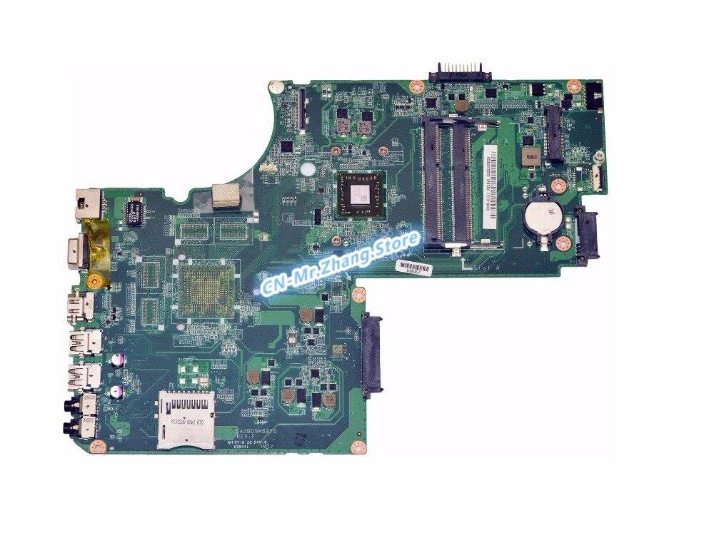 SHELI PARA Toshiba Satellite C70D C75D laptop Motherboard W/Para A4-5000 CPU A000243220 DA0BD9MB8F0 DDR3