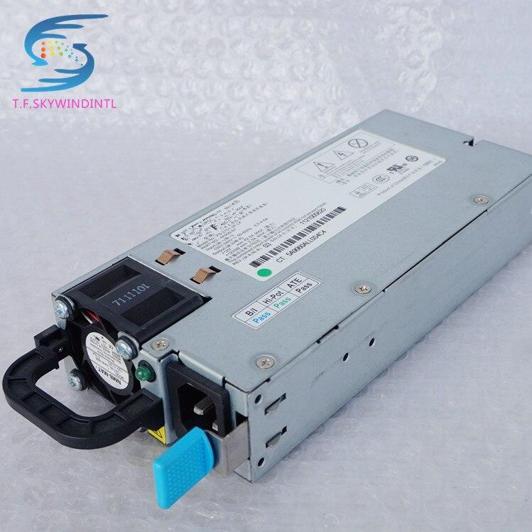 Envío Gratis PS-2751-2F-LF 4A906-01 de alimentación de 12v para el servidor R520G7 RH2285 fuente de alimentación del servidor 750W 2U servidor