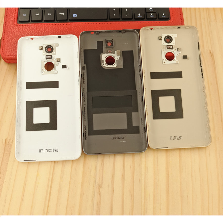For Huawei Enjoy 6 NCE-AL10 Rear Back Battery Cover Housing with Power Volume Button Side Buttons+ Camera Lens Back Cover Door enlarge