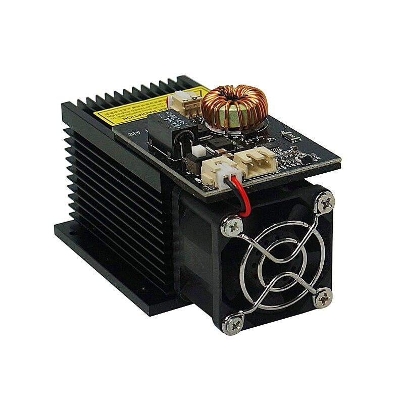 Laser Engraving Machine Tools Tube7000mw 10000MW 15000MW desktop diode Module 450NM Focusing Blue Head