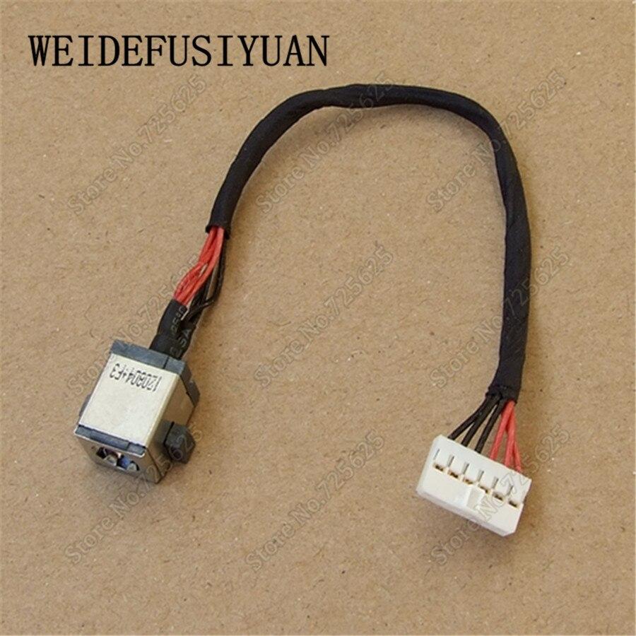 Portátil DC Jack puerto de conector de Cable para ASUS U57 U57A U57M R500 R500V R500VM