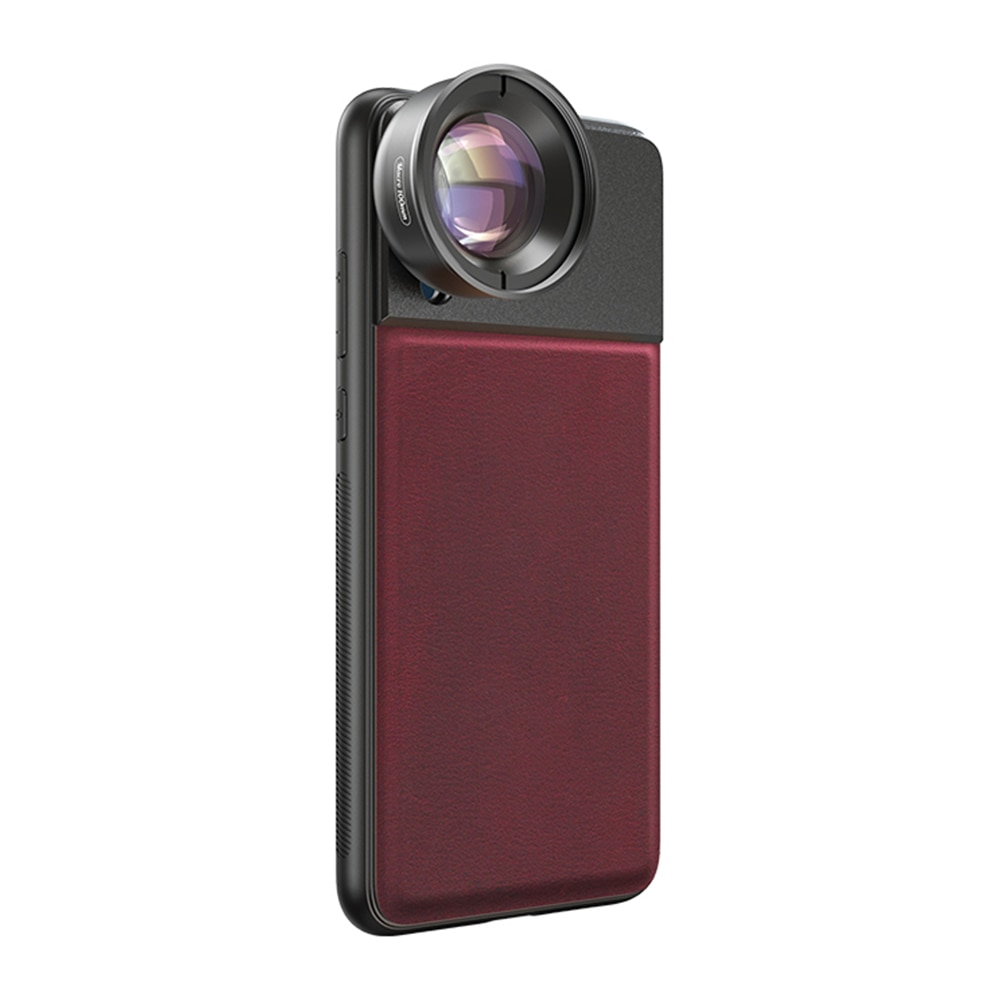 Lente Macro Moveski PR-50 para teléfono móvil lente de cámara 4K 50mm lente óptica para teléfono móvil iPhone Android Smartphone